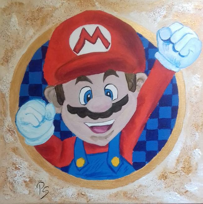 Super Mario by PenStilos
